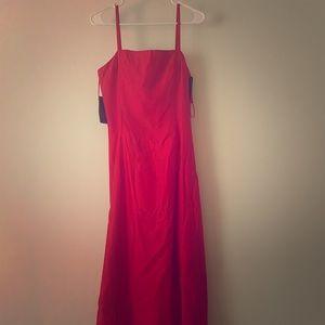 Jessica McClintock formal red dress
